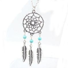New Fashion Retro Jewelry Dream Catcher Pendant Chain Necklace