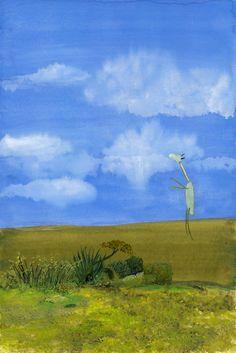 John Lurie Art ~ happy :)