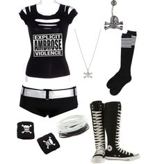 """""""Dean Ambrose's Girl!"""" by alyssaclair-winchester on Polyvore"""