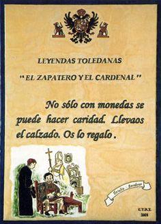 Leyenda del zapatero y el cardenal.