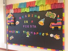 Reading is a fiesta waiting to happen--like the ruffles at the top.