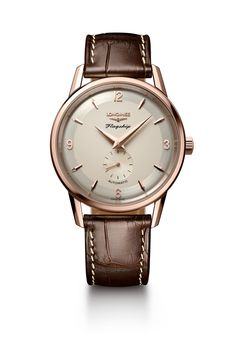Relaunching a heritage timepiece is fraught with danger. For Baselworld the Longines Flagship Heritage Anniversary hits all the right notes. Best Swiss Watches, Fine Watches, Watches For Men, Men's Watches, Latest Watches, Longines Hydroconquest, Longines Watch Men, Casio Watch, Swiss Watch Brands