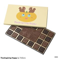 Thanksgiving Happy 45 Piece Box Of Chocolates
