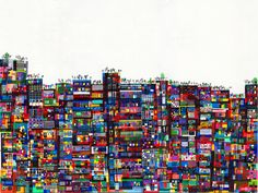 Creatively Mapping the World: Cityscapes and Illustrations by ...