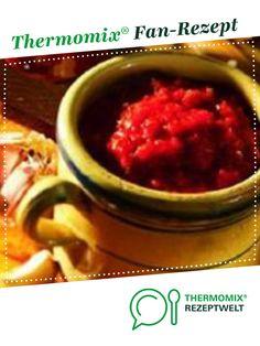 Zigeunersauce von Thermomix Rezeptentwicklung. Ein Thermomix ® Rezept aus der Kategorie Saucen/Dips/Brotaufstriche auf www.rezeptwelt.de, der Thermomix ® Community.