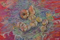 NielsenDenmark / Original oil pastel by artist by NielsenDenmark