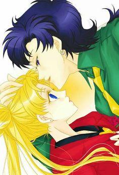 Sailor Moon Stars, Sailor Moon Drops, Arte Sailor Moon, Sailor Moon Usagi, Sailor Moon Crystal, Stars And Moon, Anime Guys, Manga Anime, Moon Drawing