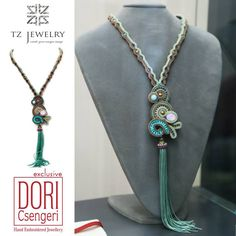 #Dori Csengeri #necklace # TZjewelry #jewelry #exclusive #unique #sotache
