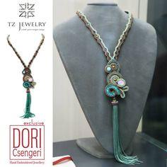 #Dori Csengeri #necklace # TZjewelry #jewelry #exclusive #unique #sotache