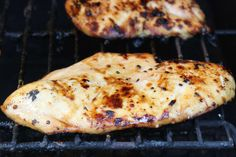 This is our favorite lemon lime soda marinade for grilled chicken breasts. It is sweet, juicy, delicious, and easy.