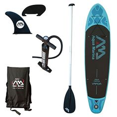 FastTwitchGrandma recommends the Aqua Marina Vapor Inflatable Stand-up Paddle Board with Sports iSUP paddle : Sports & Outdoors Inflatable Paddle Board, Inflatable Sup, Sup Stand Up Paddle, Sup Boards, Standup Paddle Board, Sup Surf, Stainless Steel Travel Mug, Sports Toys, Paddle Boarding