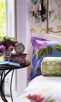 Bright and Cheery Pillows are a must for a Spring/Summer guest visit.