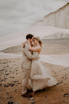 Wedding Ideas: A Wild & Free Beach Elopement