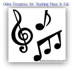 Free online resources for teaching music to kids #homeschool #preschool #kindergarten