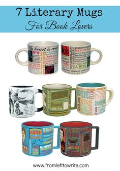 7 Literary Mugs For Book Lovers
