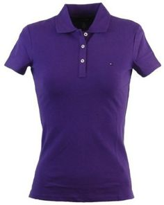Tommy Hilfiger Classic Fit Womens Pique Polo Shirt
