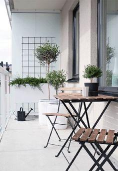 Balkon Extraordinary Ideas for Apartment Small Balcony Design Ideas – Balkon ideen Outdoor Furniture Sets, Decor, Small Balcony Design, Interior, Balcony Furniture, Home, Small Apartments, Outdoor Living, Seating Area