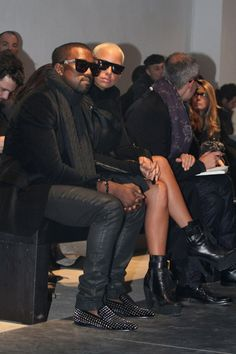 Kanye West... he kills it every time.... his louboutin's... to die for!