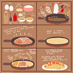 Every otaku knows that when it comes to food, omurice is one of the surefire ways to get to your waifu's/husbando's heart. Haha (๑>ᴗ<๑)  If you've ever wondered how to do it, here are the *basic* steps in cooking omurice for your loved ones (or for yourself)! xD   ♥ www.japanlover.me ♥