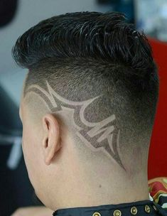 Tattoo Haircuts Tresses Pinterest Haircuts Tattoo And Hair - Hairstyle design dikhaye