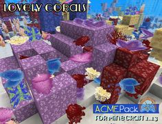 Tumbleberry's gorgeous coral designs, inspired, as always, by nature. Coral Design, Minecraft, Packing, Inspired, Nature, Inspiration, Bag Packaging, Biblical Inspiration, Naturaleza