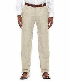 Hart Schaffner Marx Tailored SinglePleat Dress Pants #Dillards