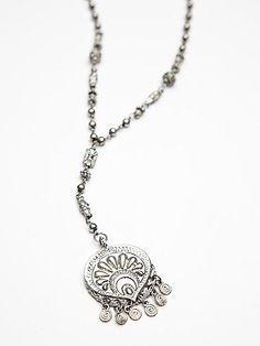 Free People Metal Bead Rosary
