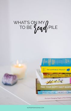 Reading is one of my favorite ways to switch off from the online world and let my mind get lost. Discover what's on my to be read pile!