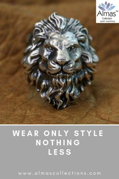 Do feel like a lion then YOU NEED this Real 925 sterling Silver Ring. Click here to find out more NOW! #silverring #menrings #sterlingrings
