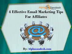 Email tips for affiliates