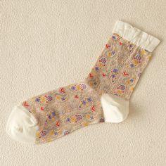 paisley socks
