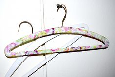 Upcycling & Make Over - alte Kleiderbügel im neuen Design - Anleitung - Serviettentechnik -| Ich mach jetzt...