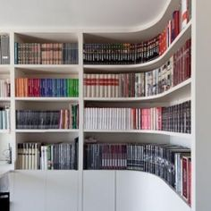 Bookcase -- successful departure from the norm