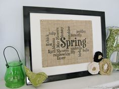 Lovin' the burlap stuff!  I have a ton of burlap.  I need to start some of these cute projects.