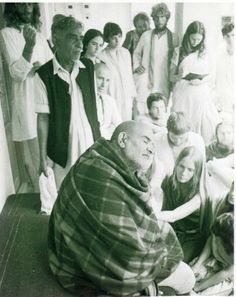 """""""What do I know? I'm just an old man."""" - Neem Karoli Baba    @katmandew - you may be interested in reading the blog this links to."""