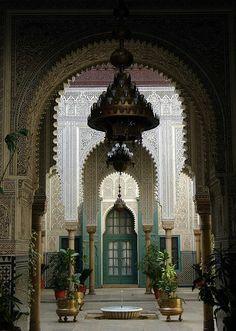 Casablanca Dar el Bacha Morocco insane details ..in love