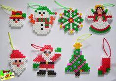 Resultado de imagen para adornos navideños con abalorios