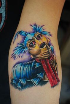 *gasp* LOVE IT!!! Labryinth worm tattoo