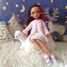 Вязаная одежда для кукол Ever After High и Monster High / Одежда для кукол / Шопик. Продать купить куклу / Бэйбики. Куклы фото. Одежда для кукол