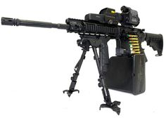 AR-15 Mag Rifle | Turn that AR-15 into a Support Weapon | Popular Airsoft