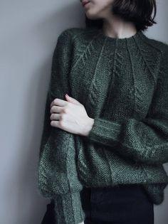 Look Fashion, Autumn Fashion, Womens Fashion, Fashion 2020, Mode Hippie, Moda Vintage, Knit Patterns, Sweater Knitting Patterns, Cardigan Pattern
