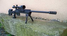 Savage 110 BA Rifle with Scope.  Have one of these in the house right now, and it causes lots of damage.