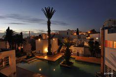 Marokko - Hotel Tagadirt in Agadir - ein Geheimtip für eine preiswerte Unterkunft