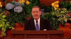 In a comment conversation on Facebook, Elder Holland revealed what his next topic will be for April's general conference.