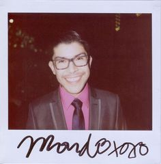 Mondo Guerra, wish he would just come to my house and make me a new wardrobe!