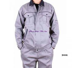 Đồng phục bảo hộ mùa đông BH046