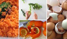 21 užitečných nápadů, jak využít zbytky z kuchyně Cantaloupe, Mashed Potatoes, Carrots, Stuffed Peppers, Homemade, Vegetables, Fruit, Breakfast, Ethnic Recipes