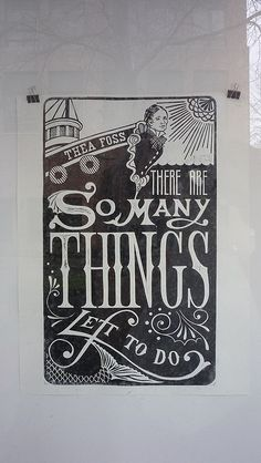 """""""there are so many things left to do"""" (Thea Foss by dreamsjung, via Flickr)"""