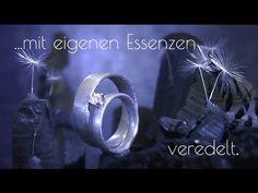 Verlobungsringe und Eheringe: Garantiert einzigartig! Modell E1 - YouTube