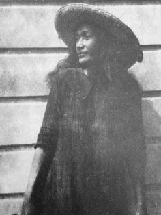 Taatamata, Tahitian lover of Rupert Brooke, for whom he wrote the poem 'Tiare Tahiti' 1914